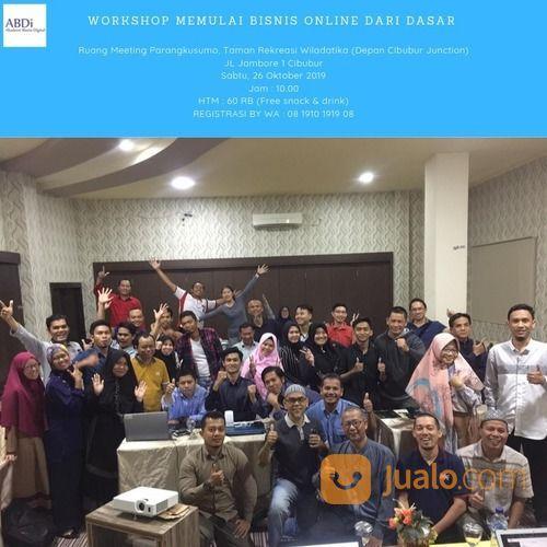 Workshop Memulai Bisnis Online Dari Dasar ( Bukan MLM ) (21758115) di Kota Jakarta Timur