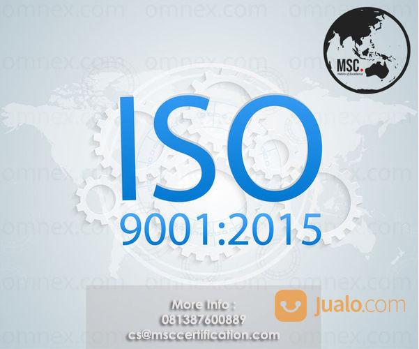 Jasa Pembuatan Iso 9001 (21758347) di Kab. Bandung