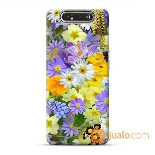 Beautiful Chrysanthemum Samsung Galaxy A80 Custom Hard Case (21786571) di Kota Bekasi