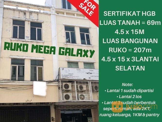Ruko Siap Pakai Megah Galaxy Cocok Untuk Usaha Apapun (21808587) di Kota Surabaya