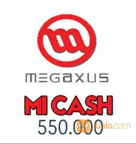 Voucher Game Online Megaxus 550.000 Mi Cash