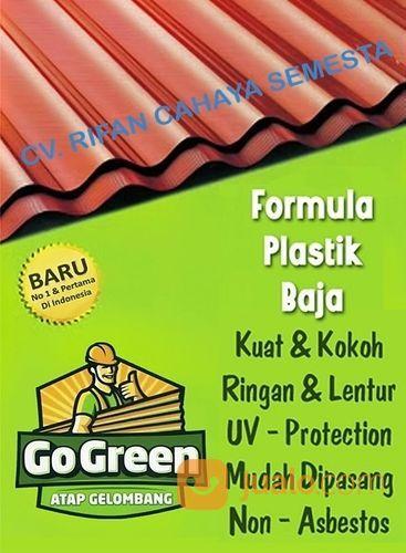 Atap go green panja bahan bangunan 21908699