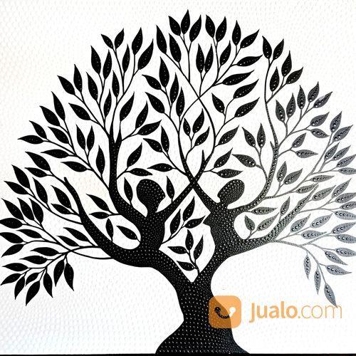 Lukisan Pohon Kebahagiaan (21938707) di Kota Denpasar