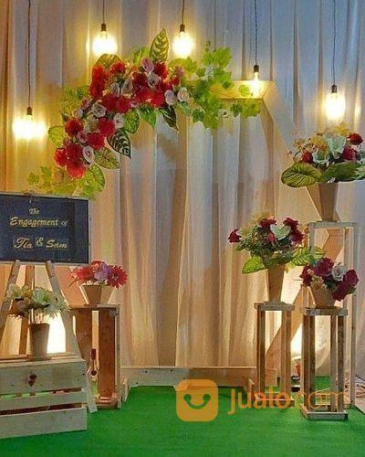 Dekorasi Pernikahan Termurah Jawa Tunangan Rustic Murah Jogja Sleman Magelang Kab Sleman Jualo