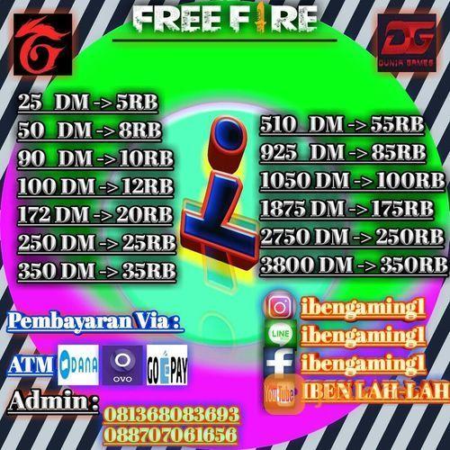 Diamond freefire term permainan dan game console lainnya 21986879