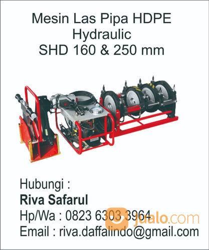 Mesin Las Pipa HDPE SHD 250/90 Hydraulic (22000991) di Kota Jakarta Timur