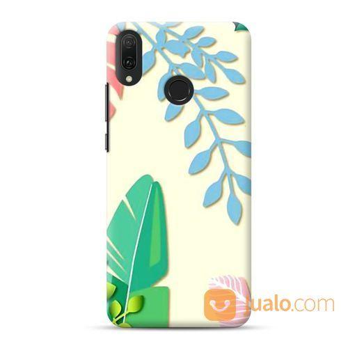 Colorful Leaves Huawei Y9 2019 Custom Hard Case (22009663) di Kota Bekasi