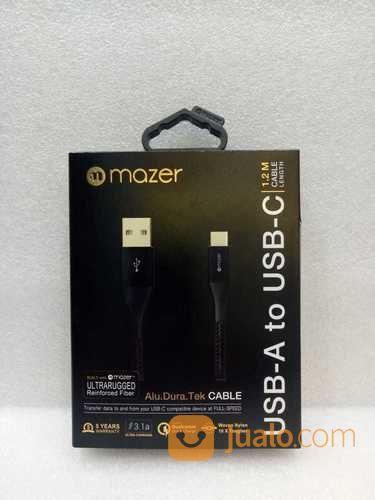 Mazer Alu Dura Tek 1.2M Cable USB-C (22018491) di Kota Surabaya