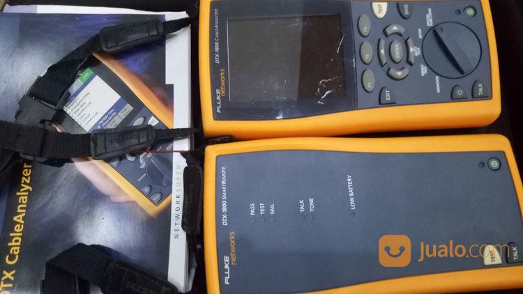 Fluke DTX1800 Analyze Cable Full Set (22021267) di Kota Batam