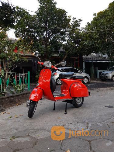 Vespa Super Merah Merona Th 74 (22027451) di Kota Semarang