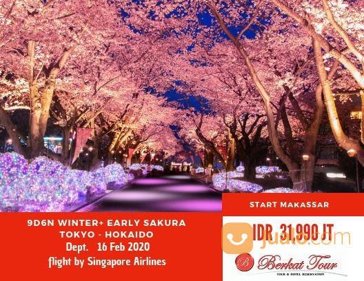 Liburan 2 Musim Sekaligus Di Jepang (22037471) di Kota Makassar