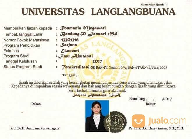 Melayani Pembuatan Dokumen Sertifikat, Ijasah Dll. (22043719) di Kota Ternate