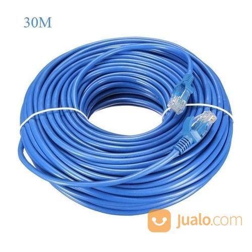 Kabel LAN UTP 30M RJ45 Cat 5e Cable 30 Meter (22085403) di Kota Surakarta