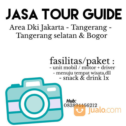 JASA TOUR GUIDE PAKETAN ( TOUR GUIDE + UNIT MOBIL/MOTOR DAN DRIVER + SNACK ) (22101763) di Kota Tangerang Selatan