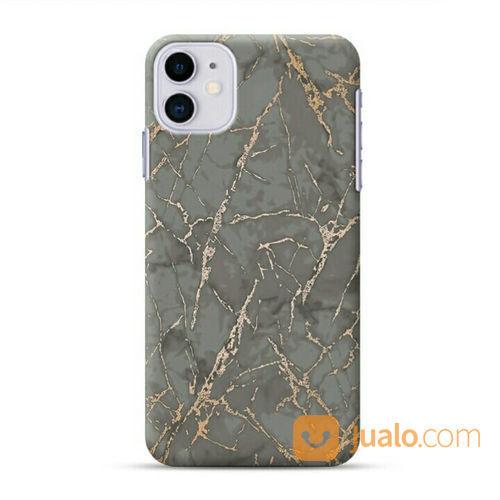 Gold Vein Grown Marble IPhone 11 Custom Hard Case (22127671) di Kota Bekasi