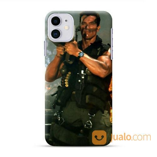 Arnol Rchwarzenengger Commando Rocket IPhone 11 Custom Hard Case (22141751) di Kota Bekasi