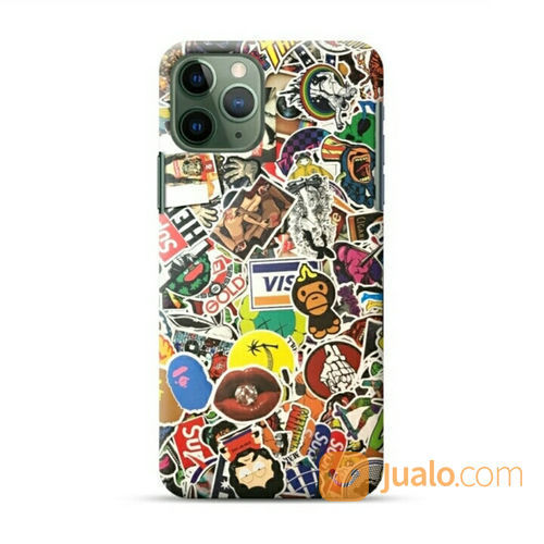 Logo Collages IPhone 11 Pro Custom Hard Case (22156251) di Kota Bekasi