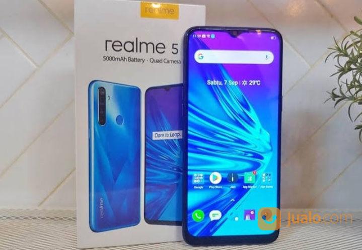 Realme 5 lengkap kond handphone lainnya 22188491
