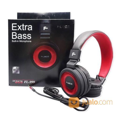 Headset Headphone Fleco FL999 FL-999 Bass (22218591) di Kota Surakarta
