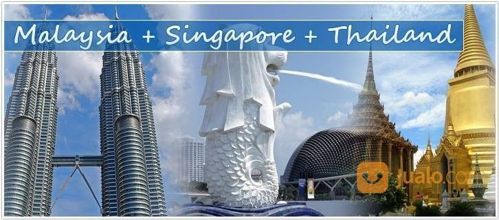 Paket WisataTiga Negara (Malaysia, Thailand, Singapore) Murah (22232919) di Kota Jakarta Timur