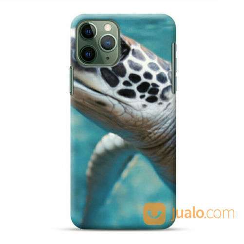 Green Sea Turtle Underwater IPhone 11 Pro Max Custom Hard Case (22236507) di Kota Bekasi