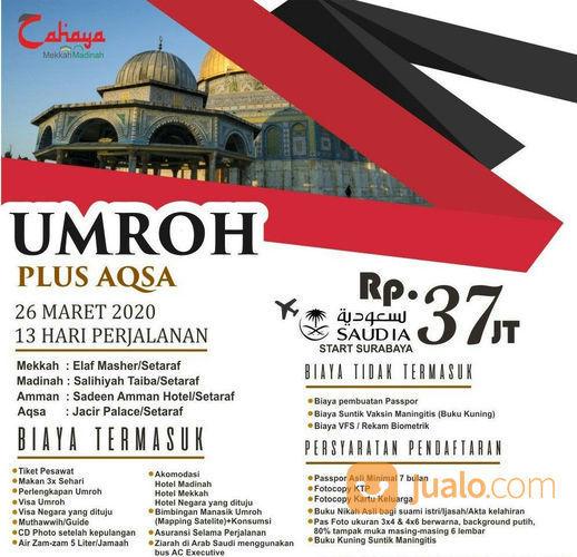 Paket Umroh Plus Aqsa Liburan Bulan Maret 2020 (22248171) di Kota Surabaya