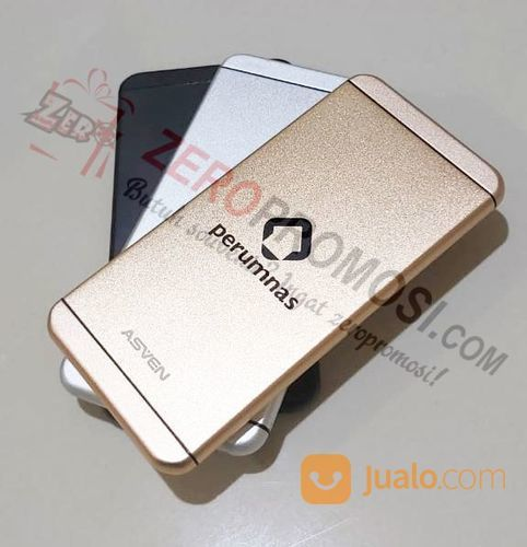 Power Bank : Power Bank Metal Slim Iphone 5000 MAh - P50AL06 (22249027) di Kota Tangerang