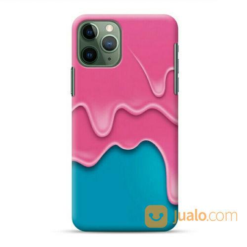 Pink Ice Cream IPhone 11 Pro Max Custom Hard Case (22250247) di Kota Bekasi