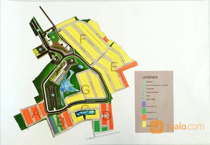 Rumah 2 Lantai Nilaya Resort Residence Dekat Jatim Park (22259035) di Kota Batu