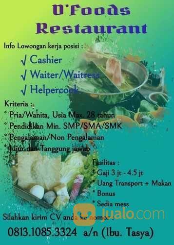 Supervisor Restoran Jakarta Timur Jualo