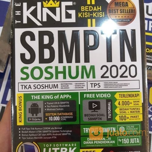 Buku Mega Best Seller Bedah Kisi-Kisi: The King Soshum 2020