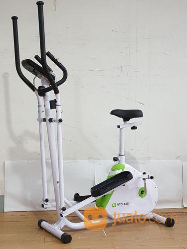 Sepeda Statis Elliptical Bike Magnetik 2 In 1