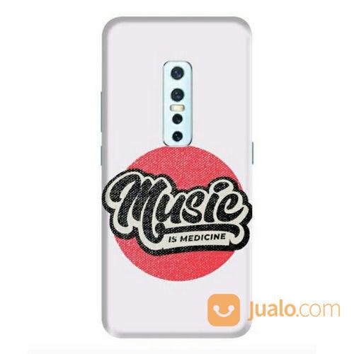 Music Is Medicine Vivo V17 Pro Custom Hard Case (22362131) di Kota Bekasi