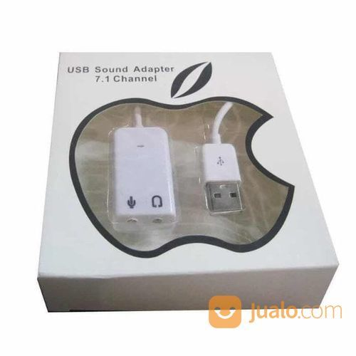 Kabel USB Sound Card 7.1 Channel Adapter External Soundcard Audio (22365899) di Kota Surakarta