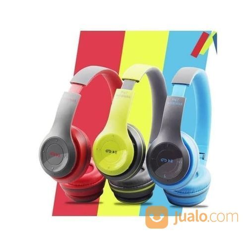 Headset Earphones P47 Bluetooth Wireless Headphones (22397083) di Kota Surakarta