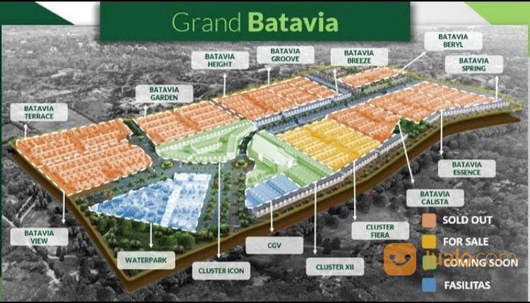 Grand Batavia Baru 2 Lantai Pondasi Paku Bumi Tangerang (22399883) di Kota Jakarta Barat