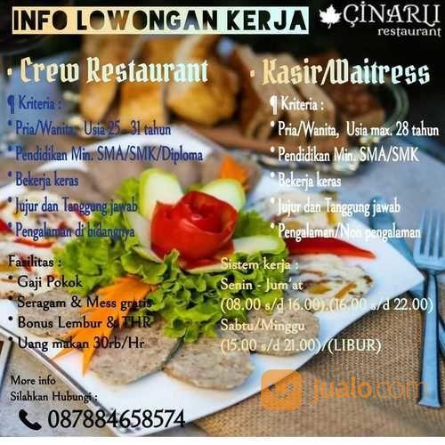 Info Loker Helper Gudang Restaurant Jakarta Selatan Jualo