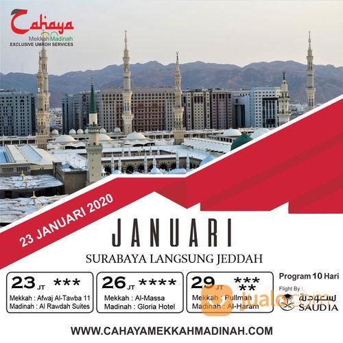 Umroh Awal Tahun 2020 Hanya 23JT (22429599) di Kota Surabaya