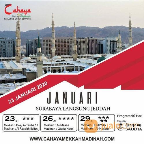 Paket Umroh Hemat Bulan Januari 2020 (22451851) di Kota Surabaya