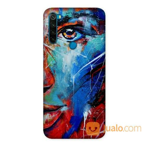 Satanama Art Xiaomi Redmi Note 8 Custom Hard Case (22492179) di Kota Bekasi