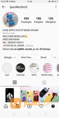 CASE HANDPHONE ALL TYPE (22593659) di Kota Jakarta Utara