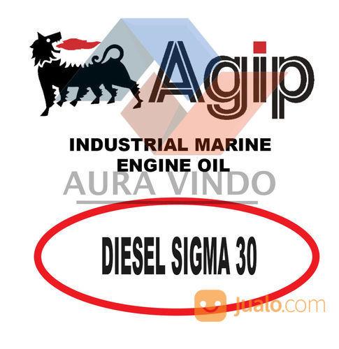 Oli Pelumas Agip Diesel Sigma 30 (22605259) di Kota Bandung
