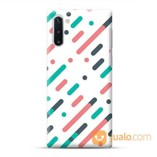 Parallel Diagonal Lines Samsung Galaxy Note 10 Custom Hard Case (22629487) di Kota Bekasi