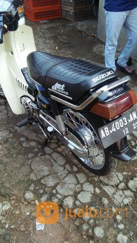 Motor Suzuki RC100. Full Paper, Pajak Off 1 Tahun, Plat Sampe 2023. Surat Menyurat Lengkap (22671183) di Kota Bandung