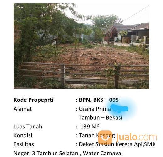 Tanah Murah D Perum Graha Prima,Tambun Bekasi (22682215) di Kab. Bekasi