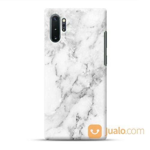 Natural White Marble Samsung Galaxy Note 10 Plus / Pro Custom Hard Case (22721587) di Kota Bekasi