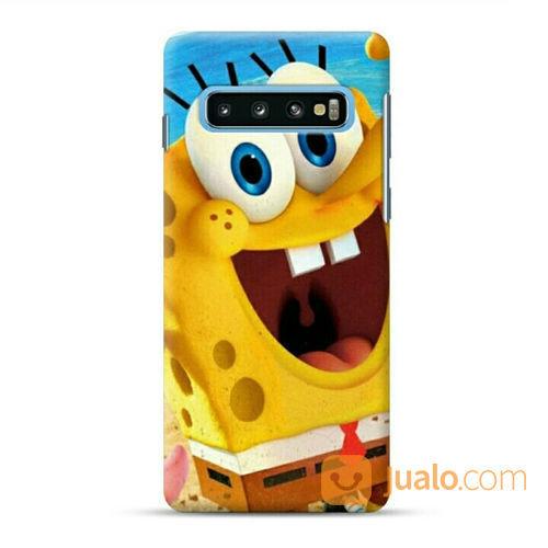 Spongebob Samsung Galaxy S10 Custom Hard Case (22767815) di Kota Bekasi