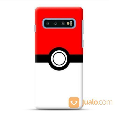 Pokemon Go Poke Ball Samsung Galaxy S10 Custom Hard Case (22775919) di Kota Bekasi