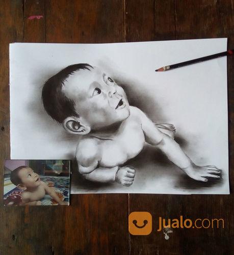 Jasa Lukis Foto (Wajah) (22792675) di Kota Depok