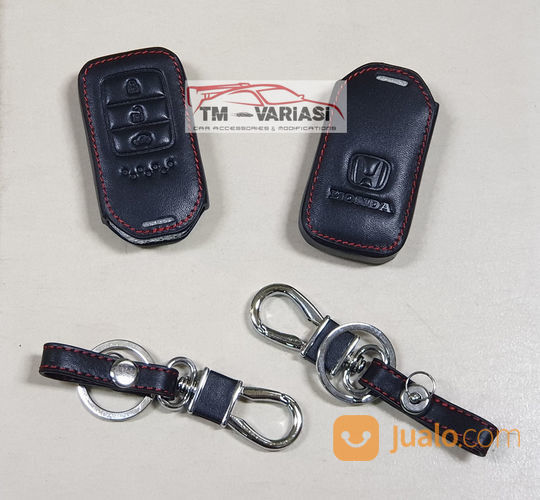 Key Case Cover Leather Kulit Remote Kunci Honda AN CRV Turbo City Accord